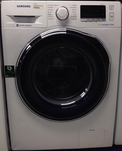 Lavatrice samsung ww90j6410cw 9 kg 1400 giri ecolavaggio for Peso lavatrice